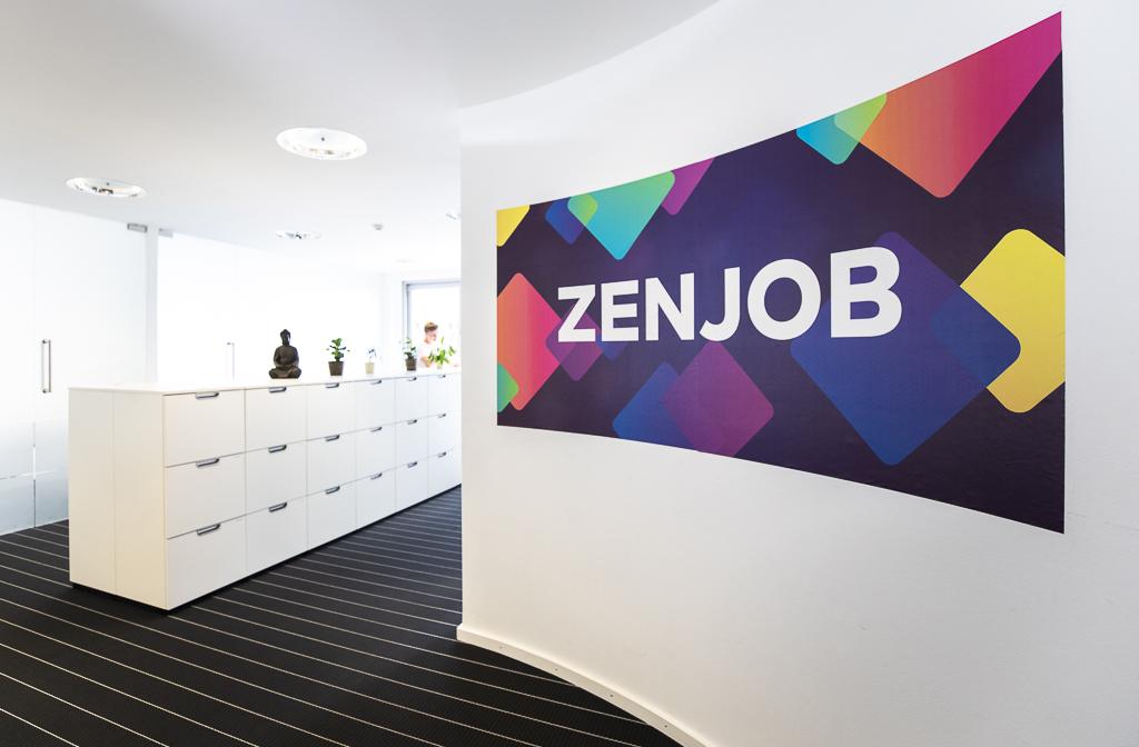 Zenjob, Logo, Office, Berlin, Büro,